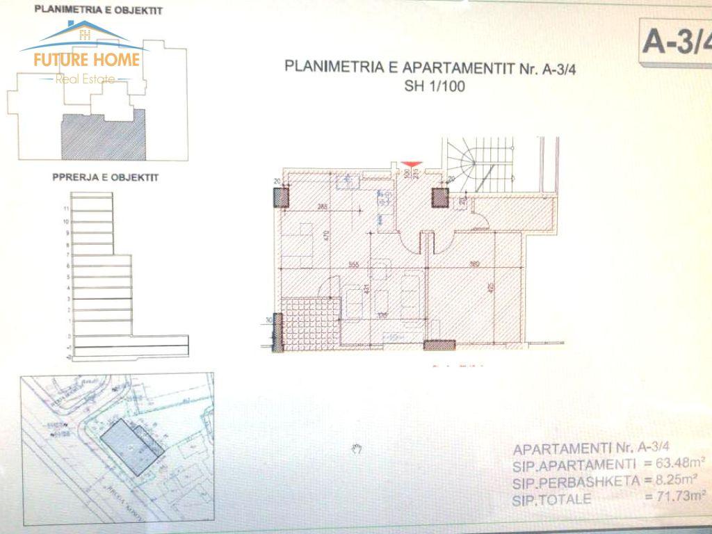 Shitet, Apartament1+1, Rruga e Kosovarëve, Tiranë