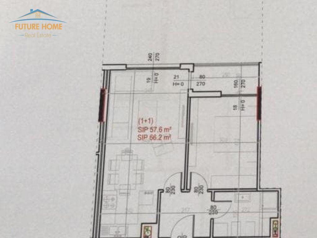 Shitet, Apartament  1+1, Shkolla e Bashkuar