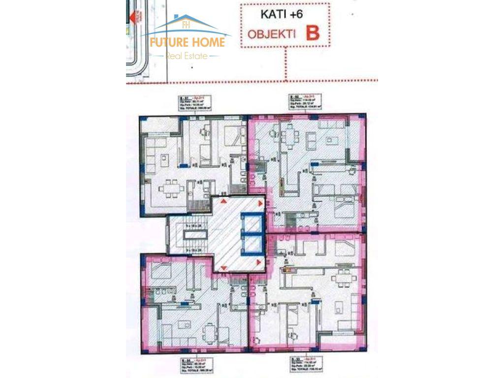 Shitet, Apartament 3+1, Rruga e Dibrës