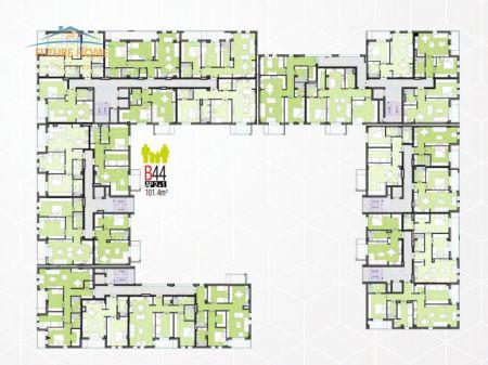 Shitet, Apartament 2+1, Kompleksi Foleja e Gjelbër, Zogu i Zi