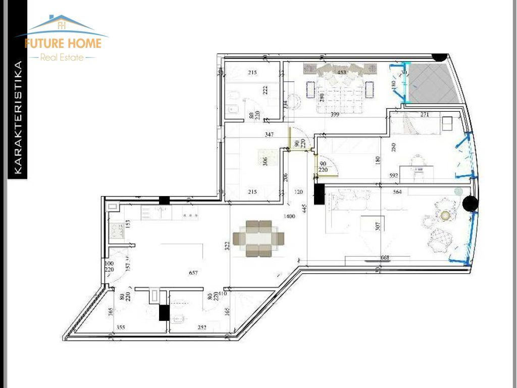 Apartament 2+1 Rezidenca Kodra e Diellit 2