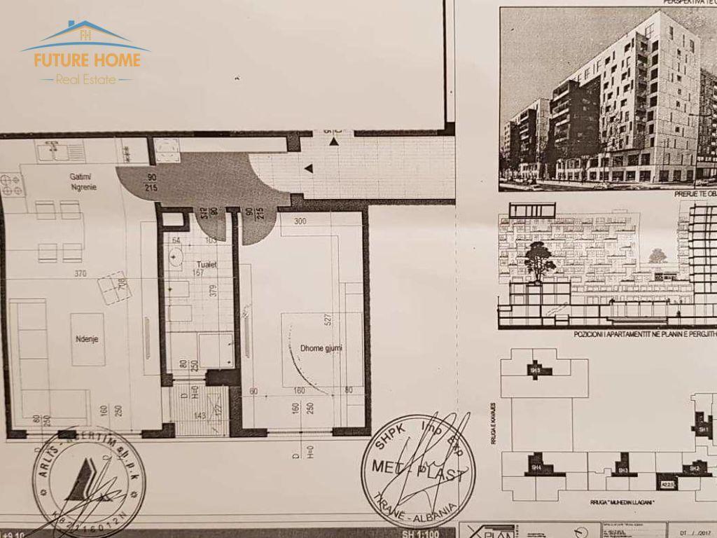 Shitet, Apartament 1+1, Rruga e Kavajës