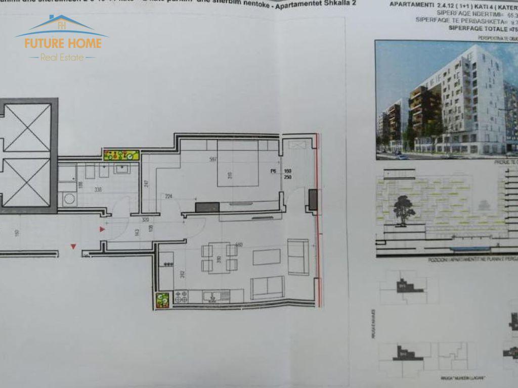 Apartament 1+1, Rruga e Kavajes