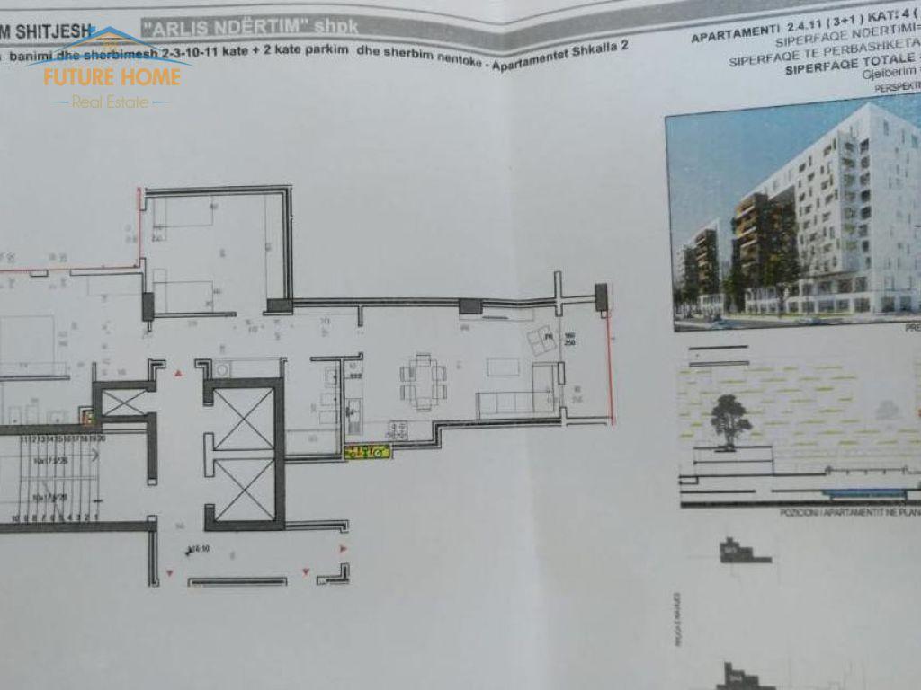 Apartament 3+1, Rruga e Kavajes