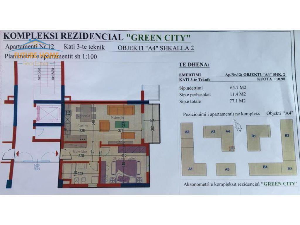 Apartament 1+1, Green City