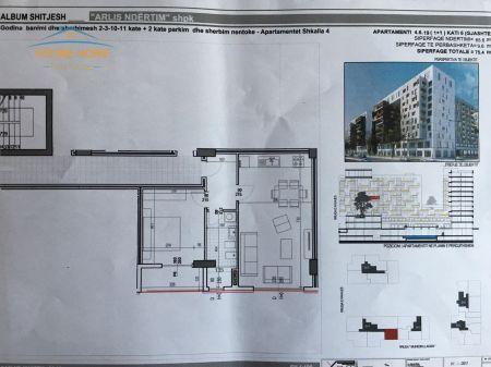 For Sale, Apartment 1 + 1, Street E Kavajes