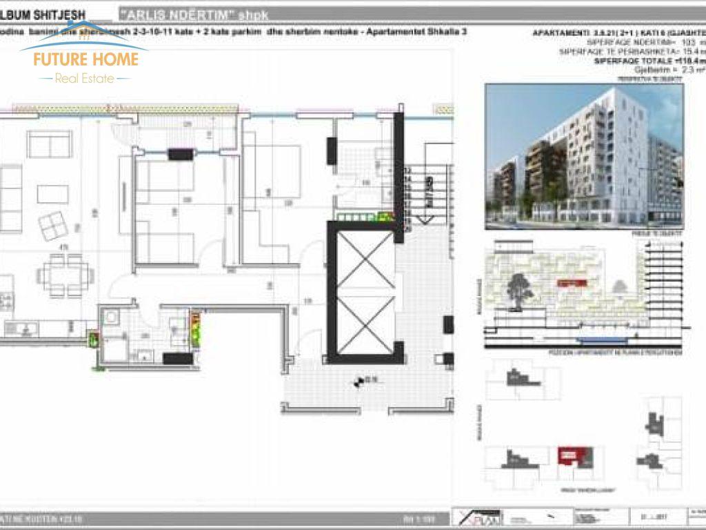 Shitet, Apartament 2+1, Kompleksi Arlis