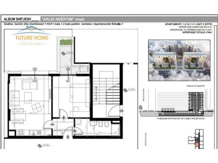 Shitet, Apartament 1+1, Kompleksi Square 21