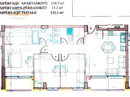 Shitet, Apartament 3+1, Kompleksi Fiori Di Bosco
