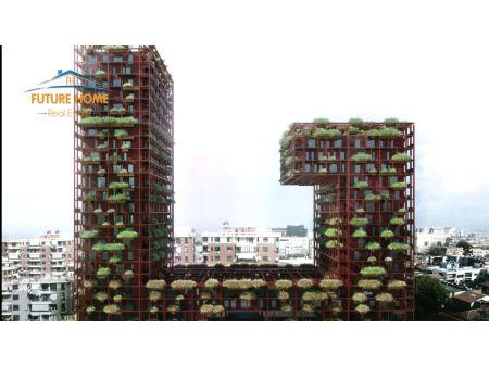 Shitet, Apartament 3+1, Garden Building