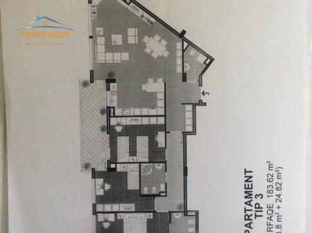 Shitet, Apartament 3+1, Liqeni, Tiranë