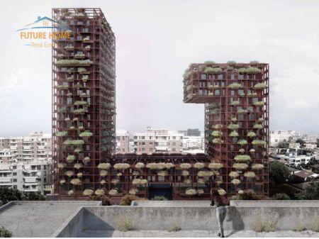 Shitet, Apartament 2+1, Tirana Garden Building, Tiranë