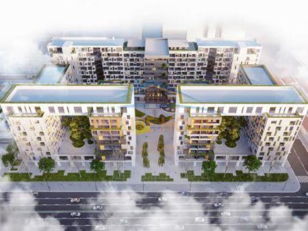 Shitet, Apartament 2+1, Kompleksi Square 21, Tiranë
